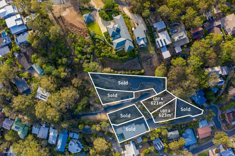 Lot 4 Exclusive Land Release in Multi-Million Dollar Hilltop Estate