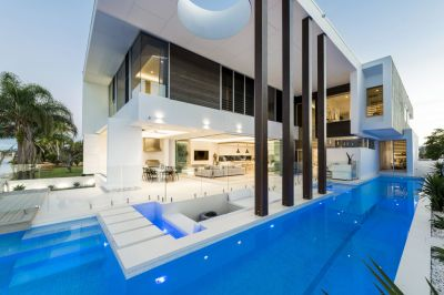 One of the Gold Coast's Best Homes on Pristine Waterfront