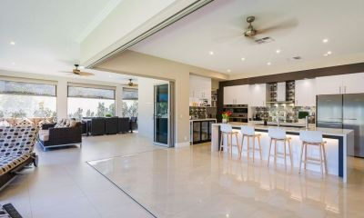Stunning Golf-Front Residence Built for Idyllic Family Living