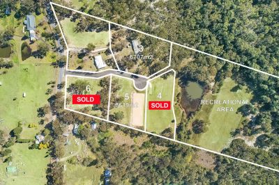 open saturday - only 1 vacant block left!!!! registered and ready to build-on; 6707m2 with 2 sheds.
