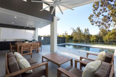 North Facing Waterfront - Modern Single Level Home
