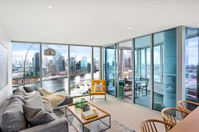 Exclusive two bedroom living in Yarra's Edge's newest luxury tower