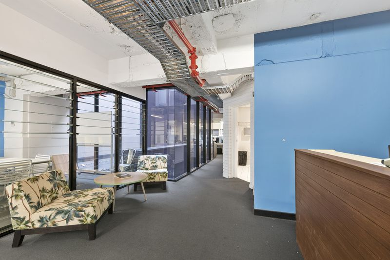 Fitted out creative space