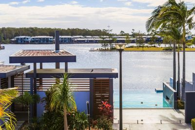 Immaculate North Facing 3 Bed Stunner Water Views!