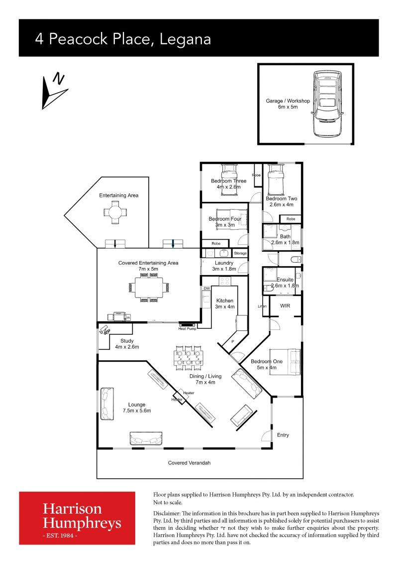 4 Peacock Place Floorplan