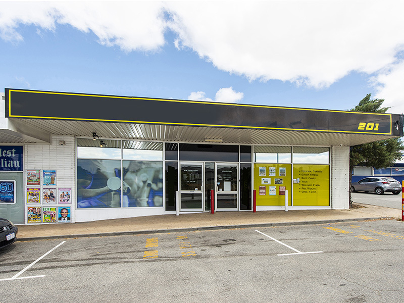 244 sqm Showroom/Retail - Zoned mixed use