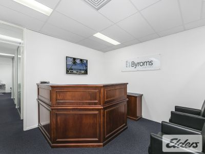 CENTRALLY LOCATED FITTED-OUT OFFICE!