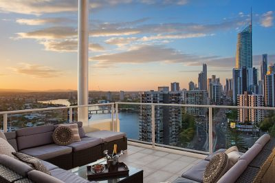 Stylish Affordable Penthouse with River & Vibrant Inner City Views
