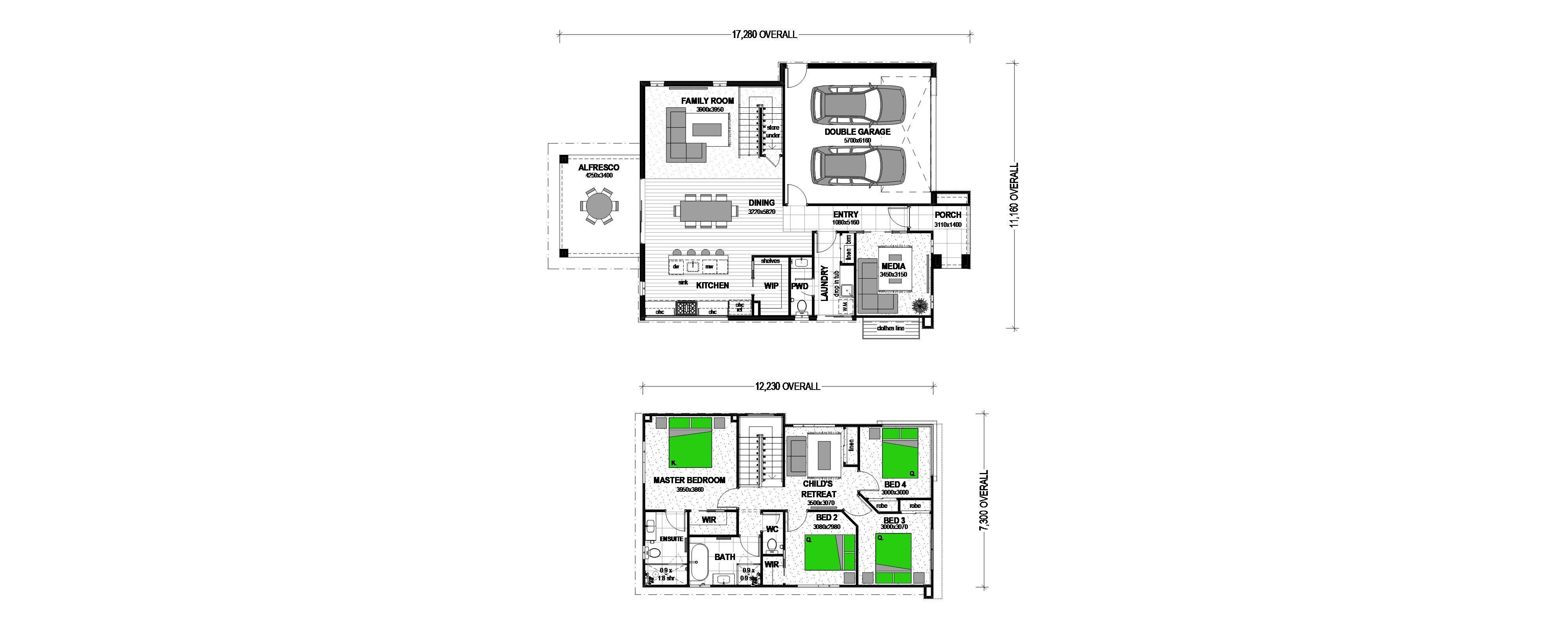 Glenview Floorplan