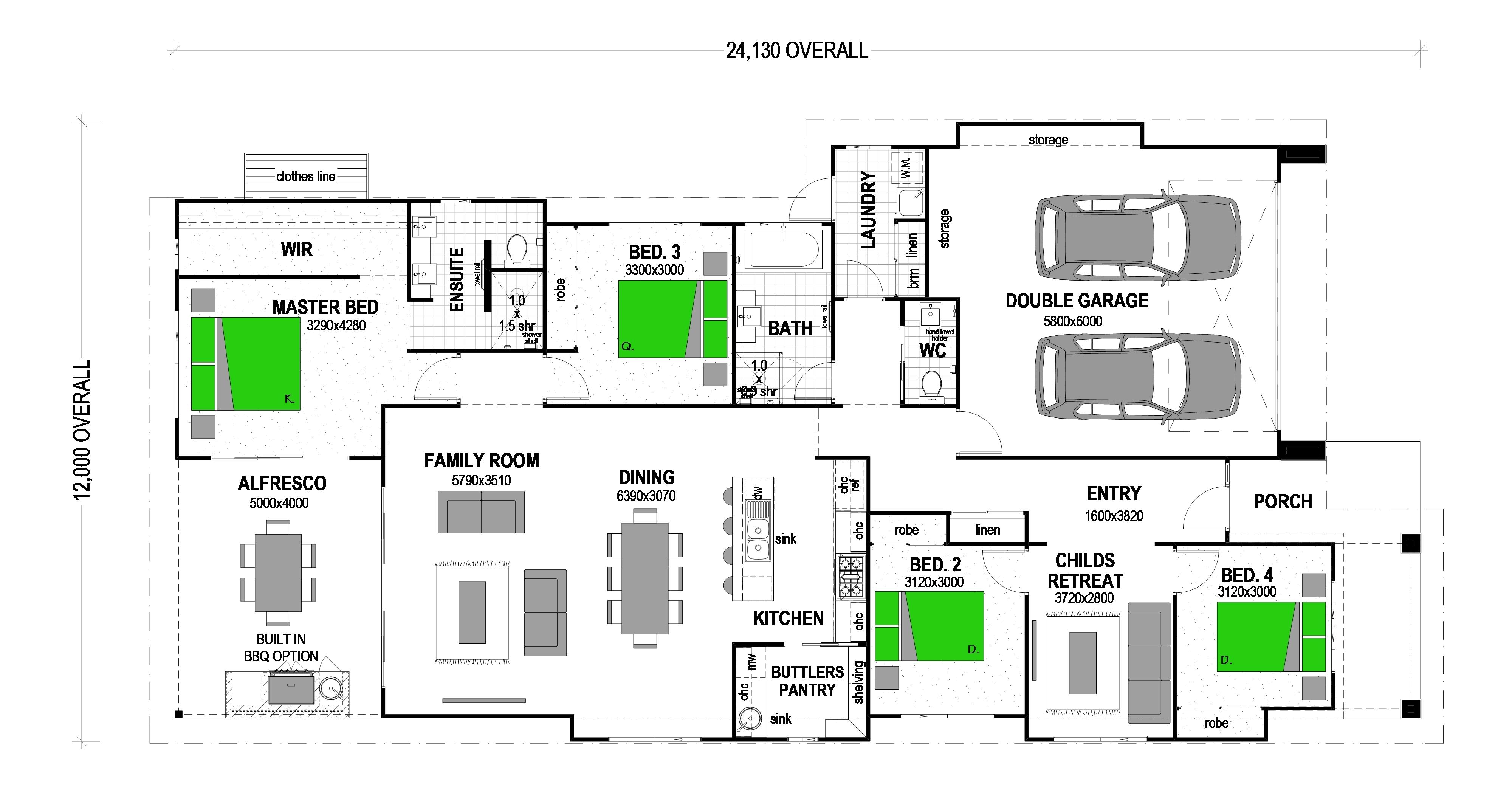 16 SLOAN SQUARE DROUIN SOUTH Floorplan