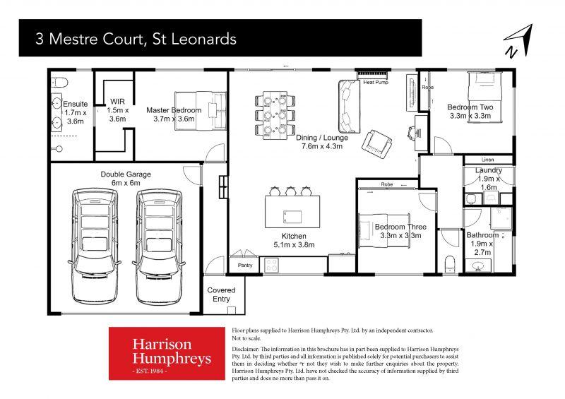 3 Mestre Court Floorplan