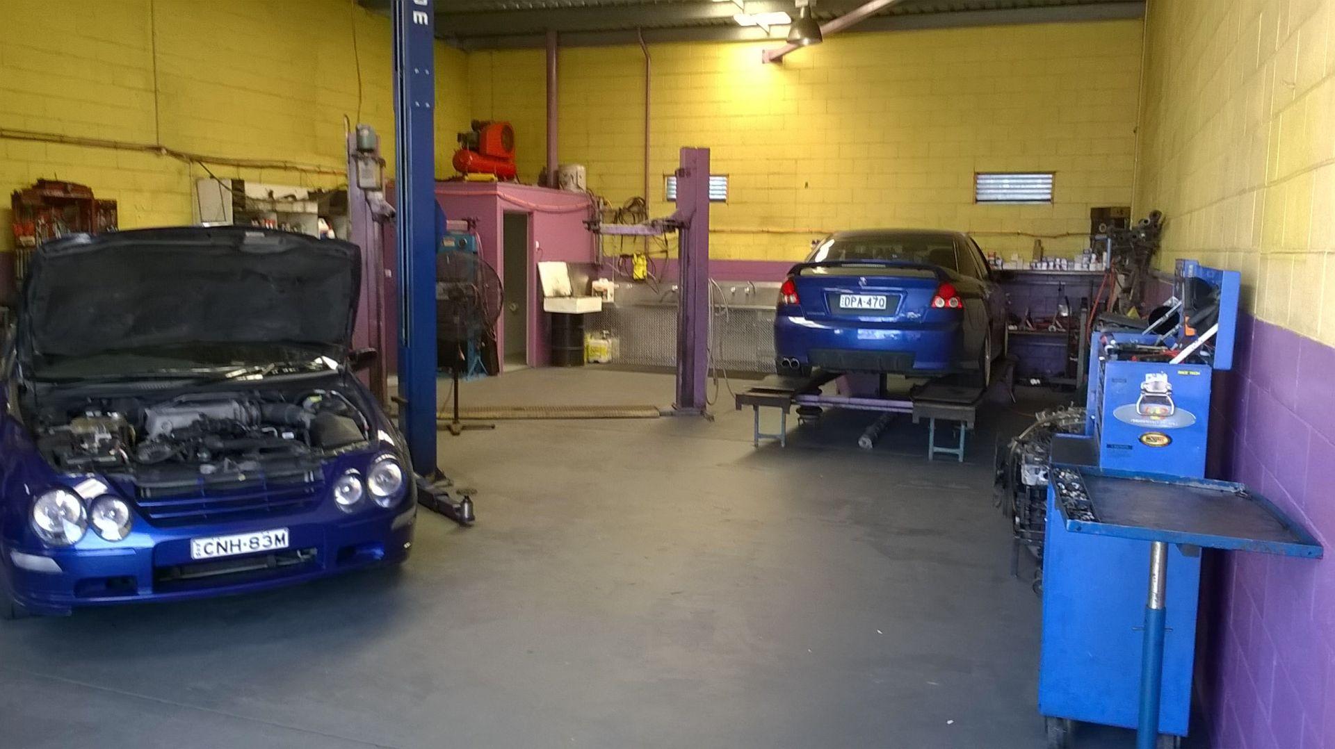AUTOMOTIVE & MECHANICAL REPAIR WORKSHOP