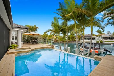 Rare Single Level Waterfront in Australia's Premier Lifestyle Golf & Marine Resort. FIRB Exempt.