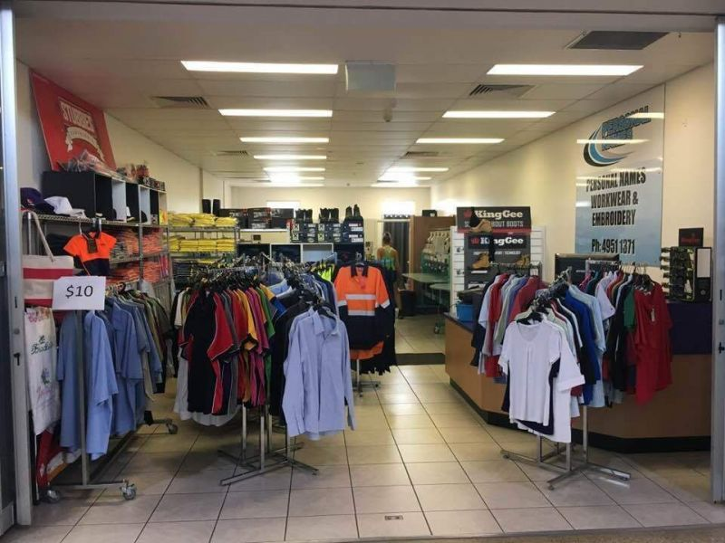 Personal Names Workwear And Embroidery - Mackay