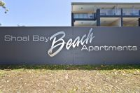 Shoal Bay beach at your door.