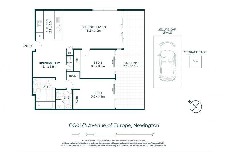 CG01/3 Avenue Of Europe Newington 2127