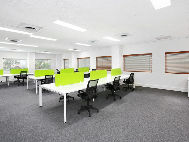 130sqm Corner Suite With Fit Out Funky Feel North Sydney CBD