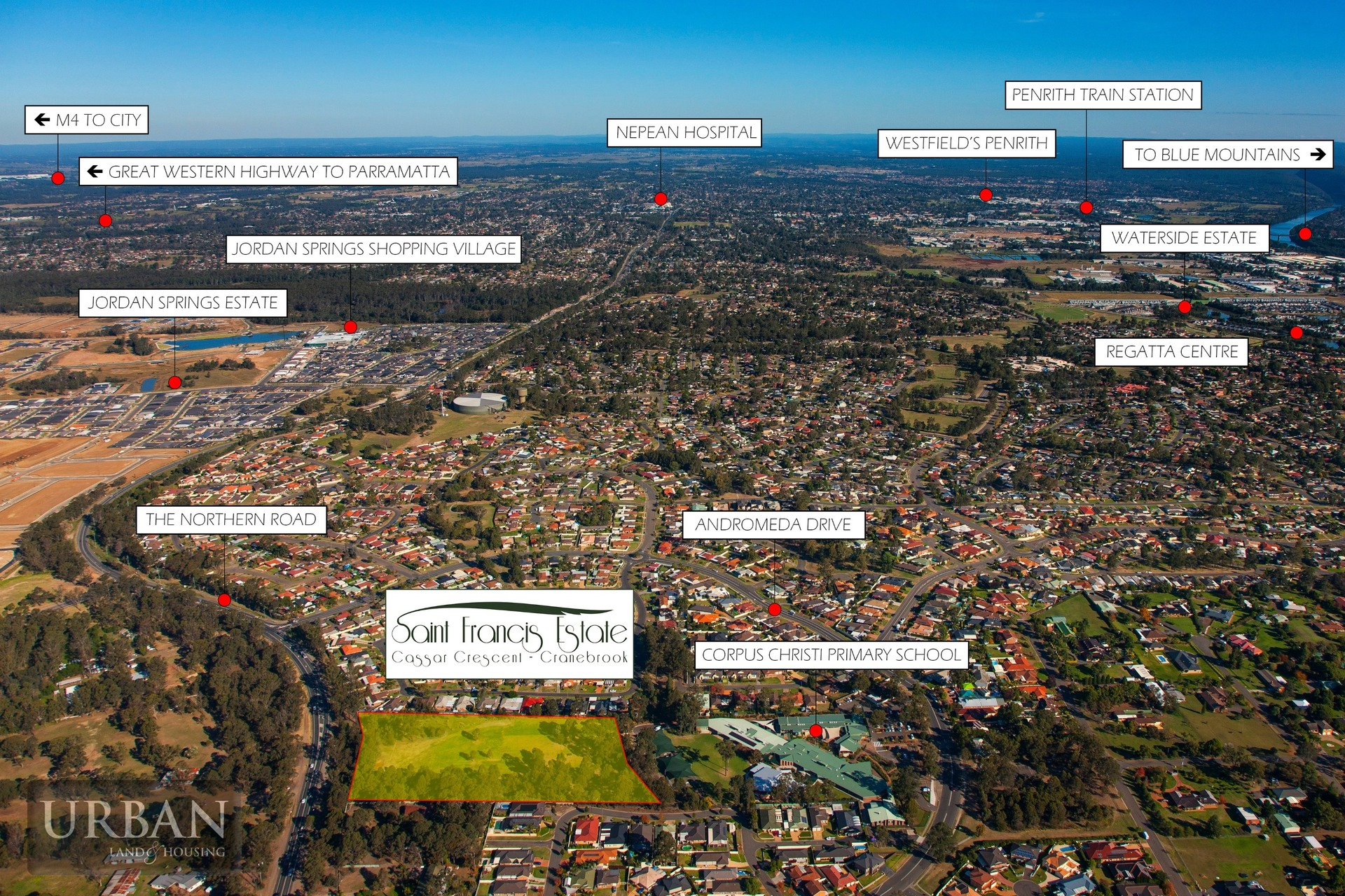 Cranebrook Lot 2 Saint Francis Estate