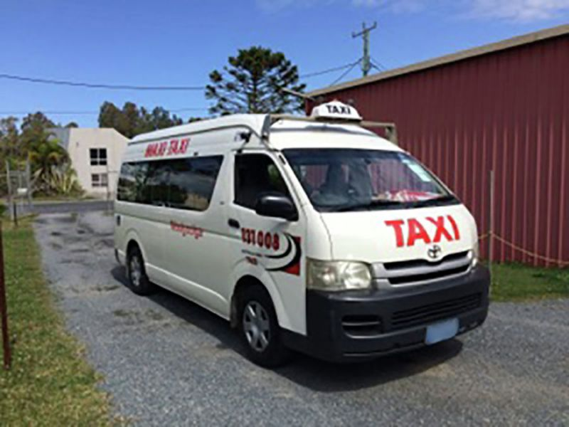 TAXI BUSINESS - COASTAL NORTHERN NSW / WOOLGOOLGA