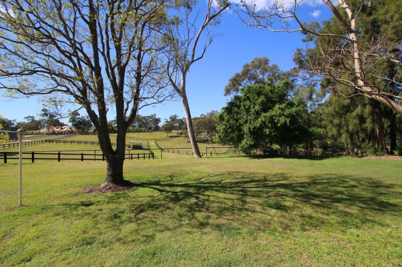 15 acres of rolling pastures with stunning equestrian facilities, main home plus 1 bedroom self-contained cottage.