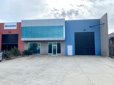 Clean Clearspan Warehouse With Office!