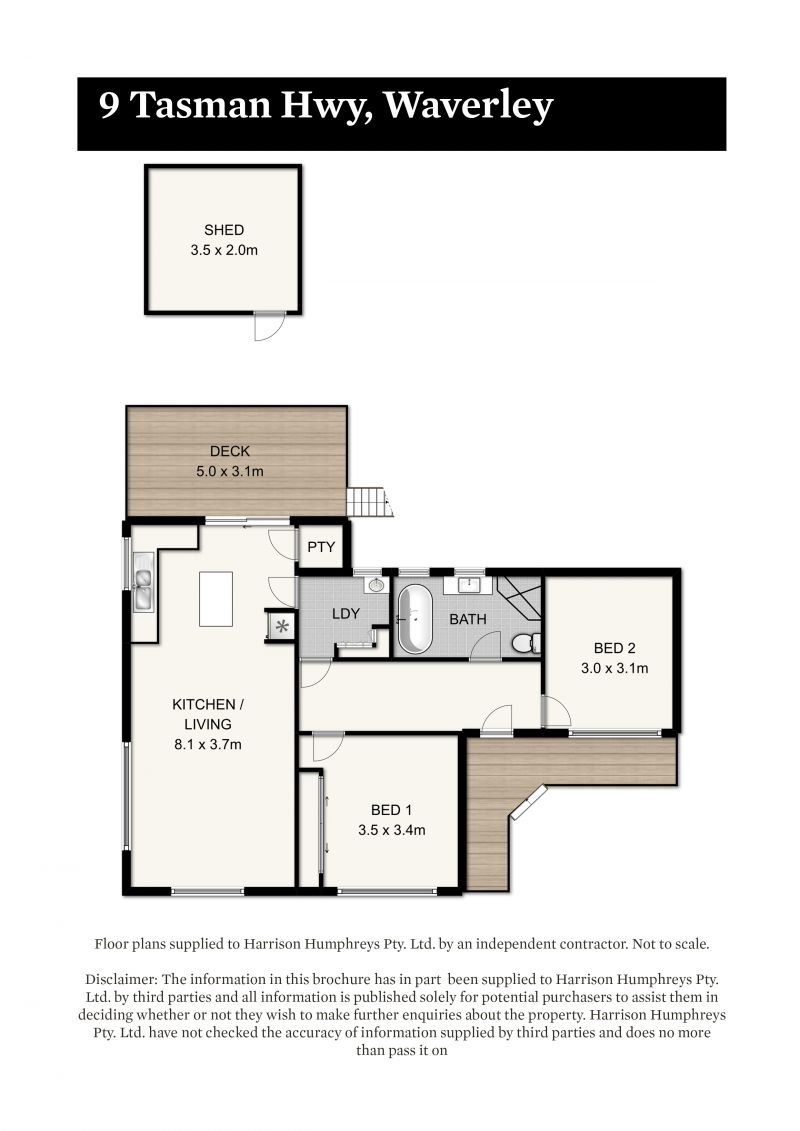 9 Tasman Highway Floorplan