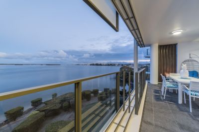 Superb Views Over Broadwater to Surfers Paradise  Coveted Position Rarely Available!
