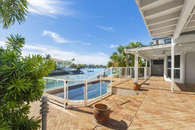 Prestigious North Facing Waterfront Home