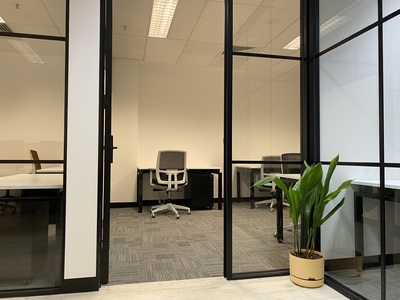 Private offices in Shared Workspace