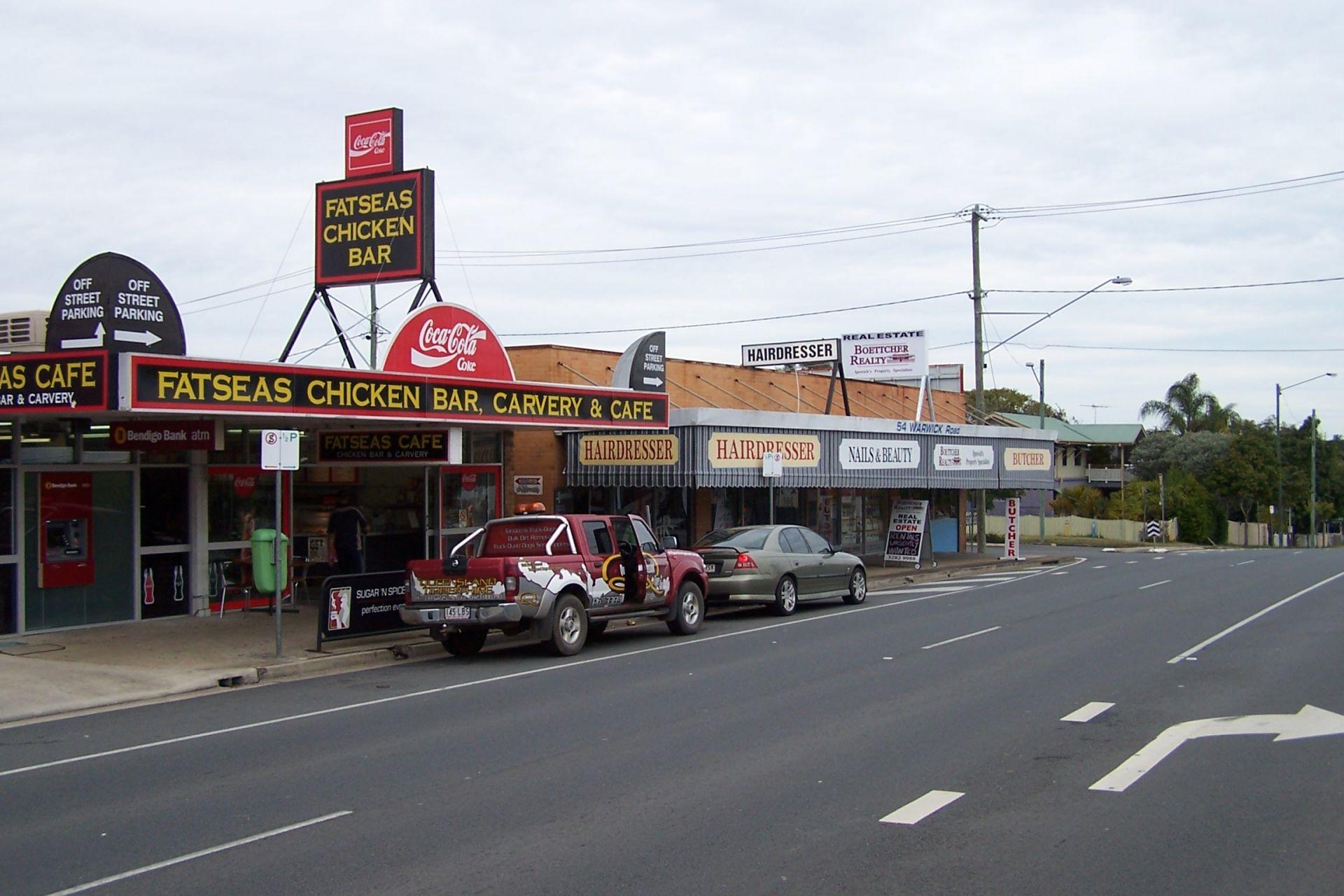 Prime Corner Location And Plenty Of Parking