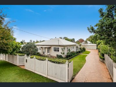 Prestigious East Toowoomba Glamour With A Huge 3 Bay Shed