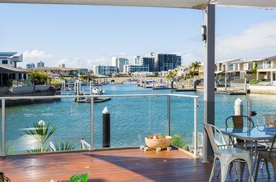 Modern Waterfront Home with Atrium Garden!