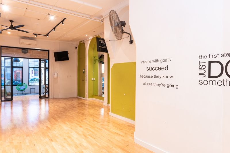 RETAIL SHOP WITH EXCELLENT EXPOSURE OR 'READY-TO-GO' YOGA/FITNESS/DANCE STUDIO