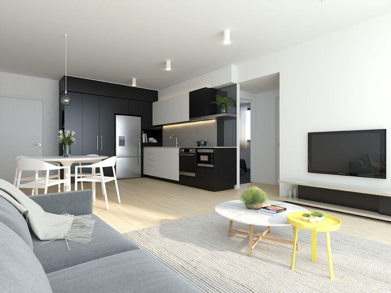 Modern Top Floor Apartment - Overlooking Parkland>