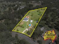 Potential Plus – Home, Machinery Shed + Approx. 5.32 Acres!!!