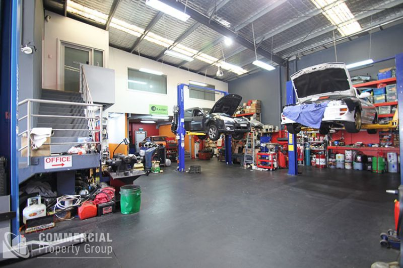 SOLD BY MATTHEW MCHARDY - Mechanical Workshop or Ultimate Man Cave!