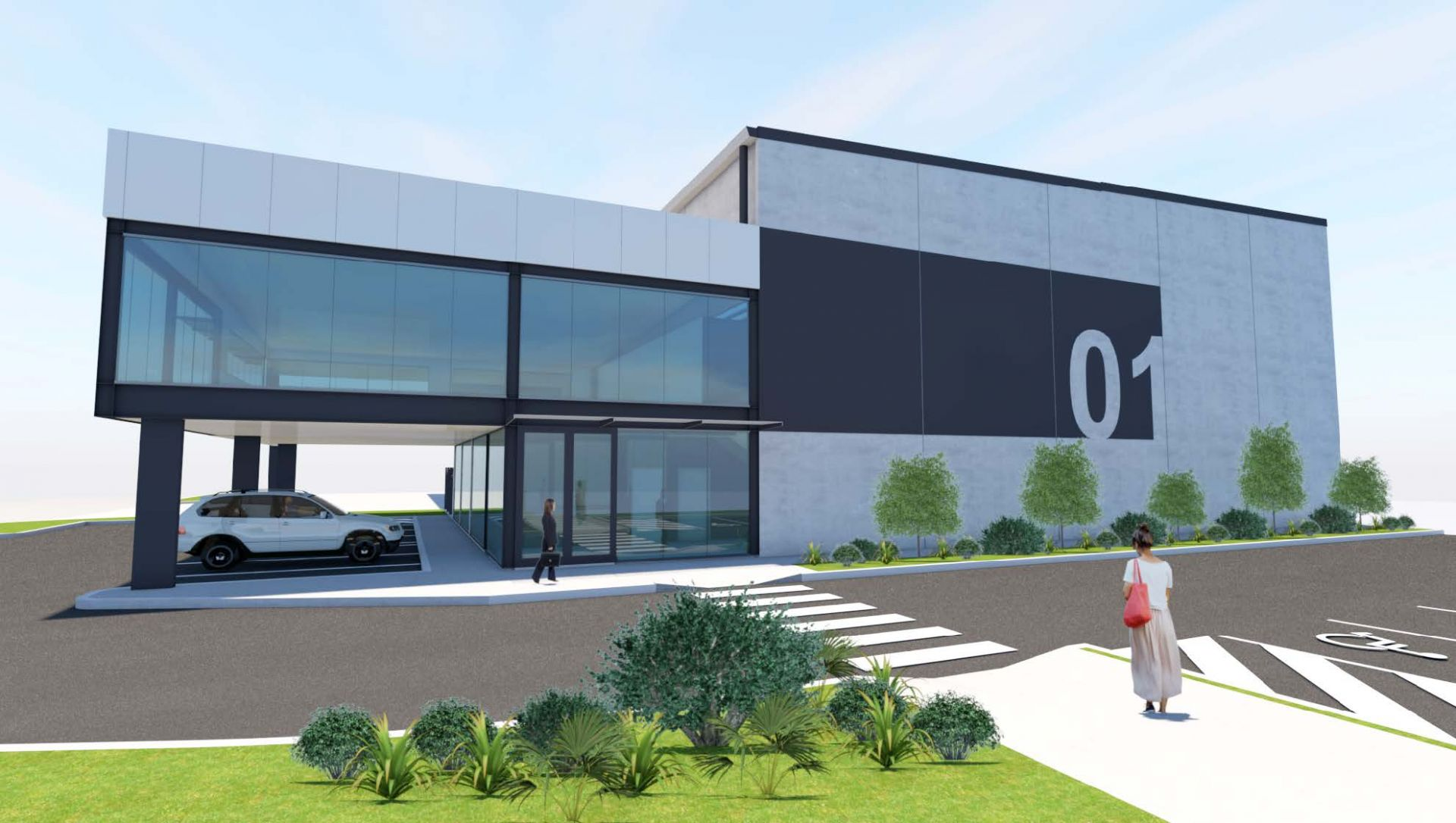 For Lease: UNDER CONSTRUCTION - FUNCTIONAL OFFICE/ WAREHOUSES