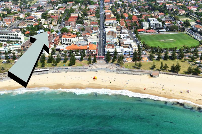 DEPOSIT RECEIVED - Spacious two bedroom apt, only moments away from Coogee Beach!