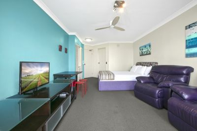 Resort living in this immaculate furnsihed studio apartment