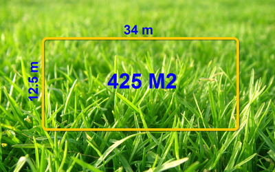 Perfect block size for a house with a generous backyard in Armstrong Creek. Lot. 3942