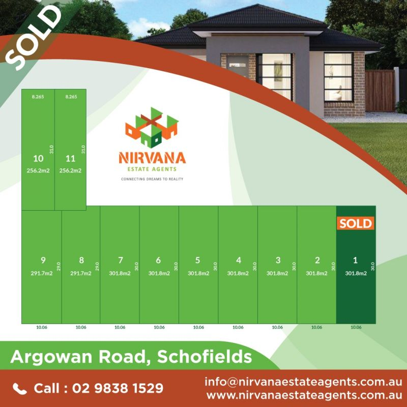 North West Facing Rectangular Block in prime location of Schofields !! SOLD By SATYA from Team Nirvana !   Looking for more properties in the area