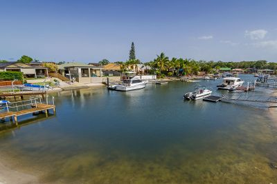 Entry Level Waterfront Home in Quiet and Convenient Location