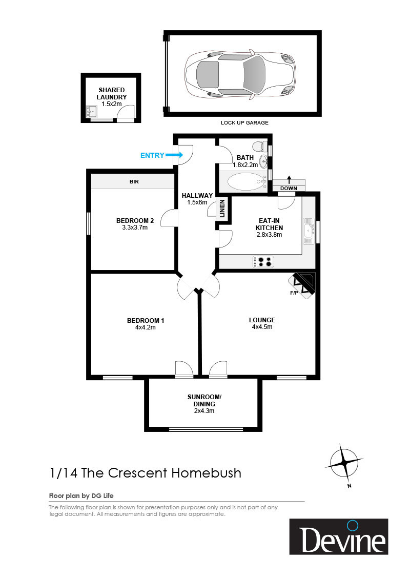 1/14 The Crescent, Homebush