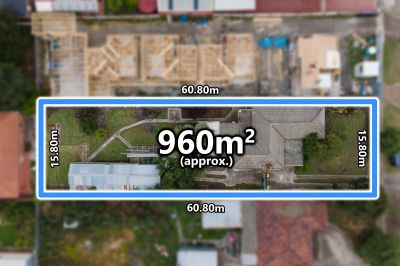 Dual Rental Income Potential On 960M2 (approx) Allotment