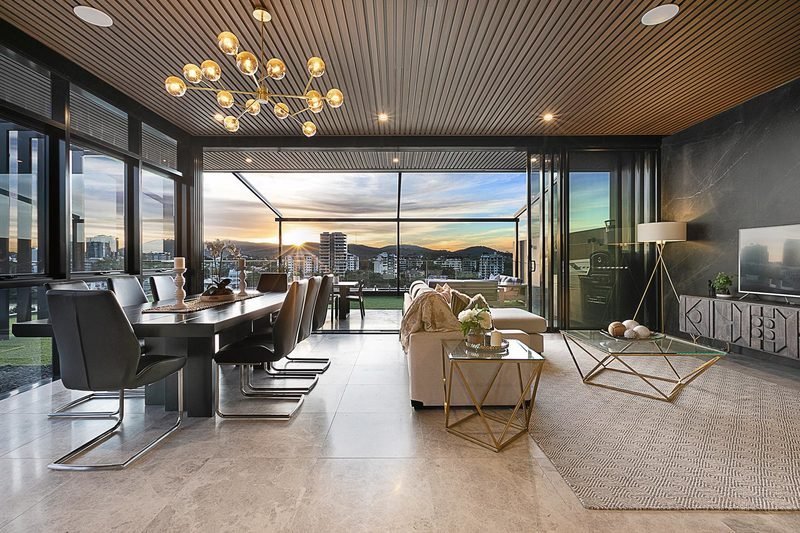 Breathtaking Waterfront Penthouse + Exotic Finishes & Opulent Fixtures