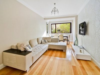 Stylish Two Bedroom Apartment in Convenient Locale