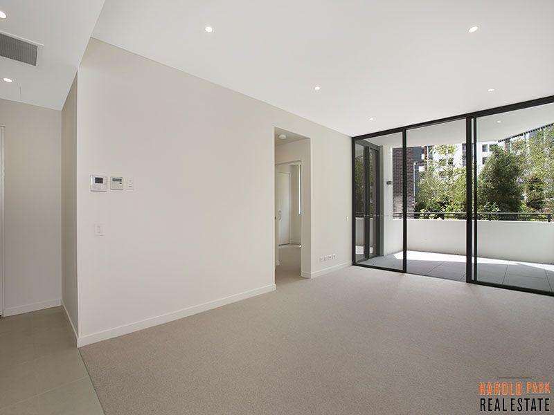 Large ground floor apartment