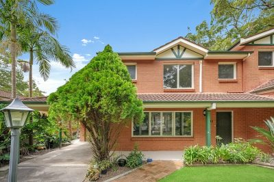 Three bedroom townhouse in prime locale