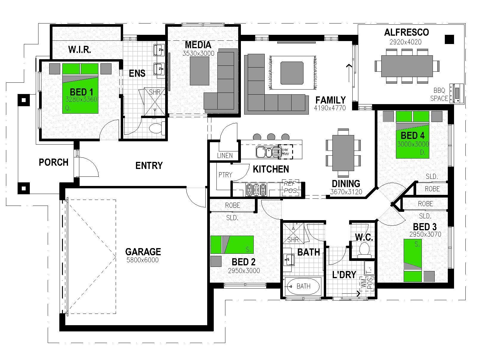 LOT 262 WATERLEA WALLOON WALLOON Floorplan
