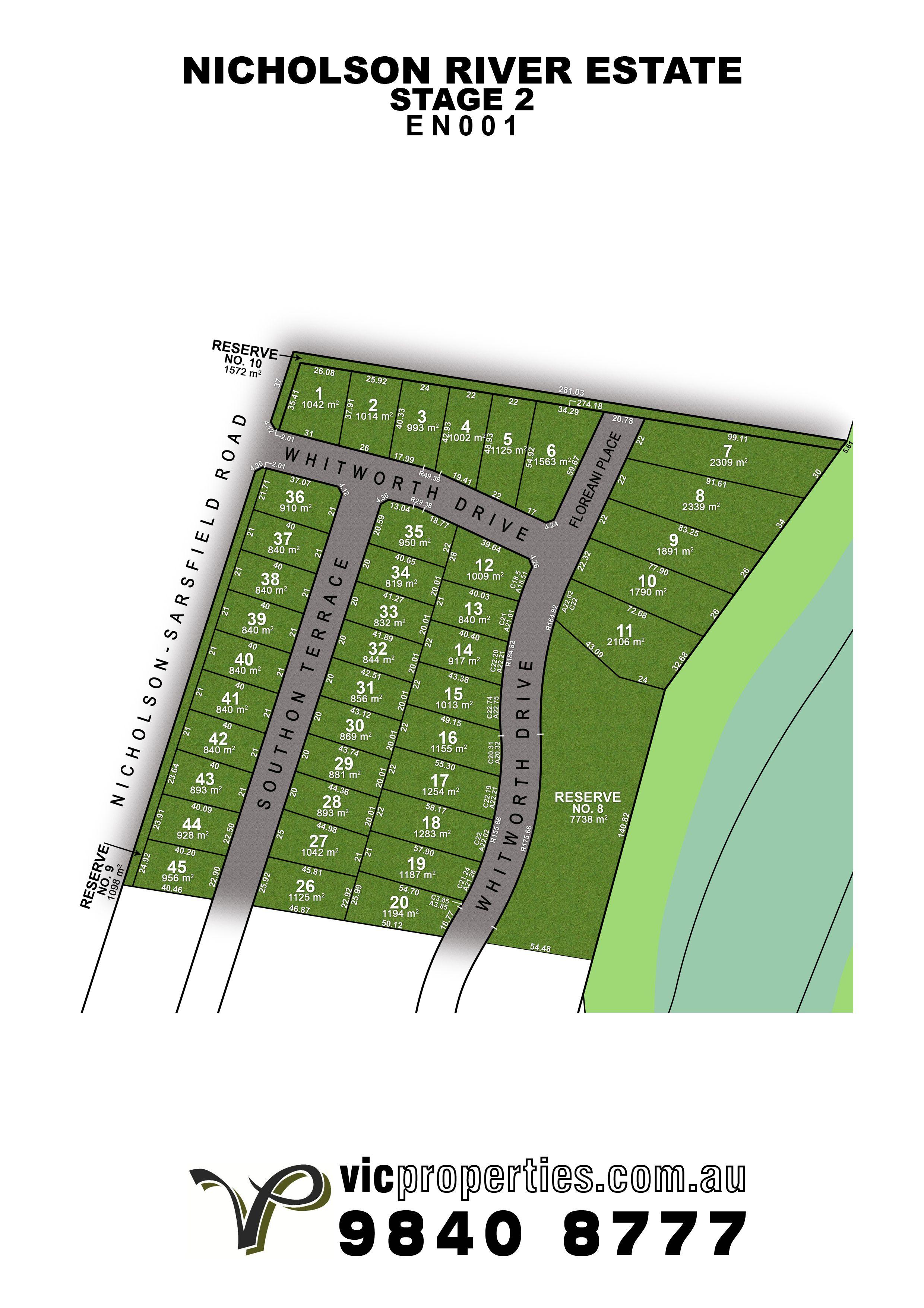 Lot 33/34 Southon Terrace, Nicholson VIC 3882